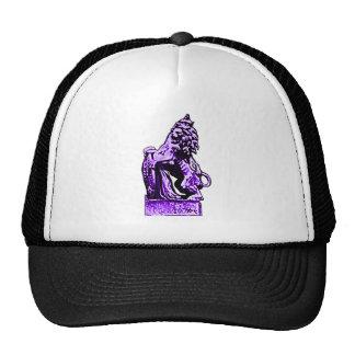 Púrpura británica del león rv del emblema el solda gorros