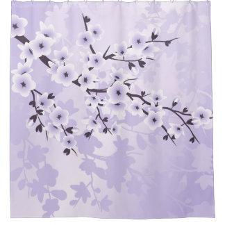 Púrpura clásica de las flores de cerezo florales