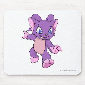 Púrpura de Acara Tapete De Ratón