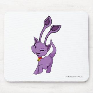 Púrpura de Aisha Alfombrilla De Ratón