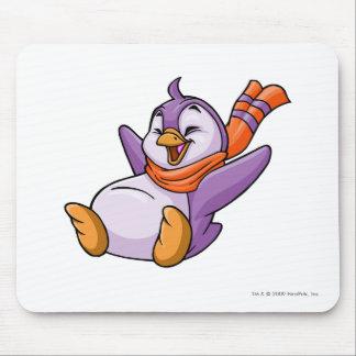 Púrpura de Bruce Tapete De Ratón