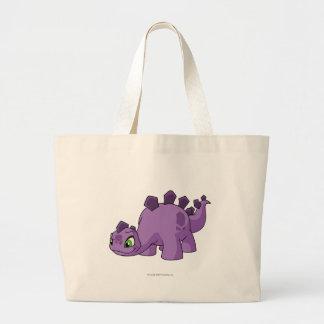 Púrpura de Chomby Bolsa Tela Grande