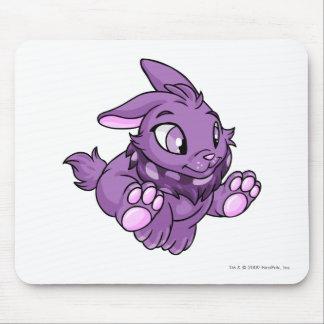 Púrpura de Cybunny Tapete De Ratones
