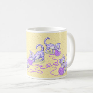Púrpura de Kittipurra en el queso Taza De Café