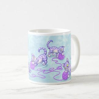Púrpura de Kittipurra Taza De Café