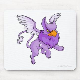 Púrpura de la aguilera alfombrilla de ratón