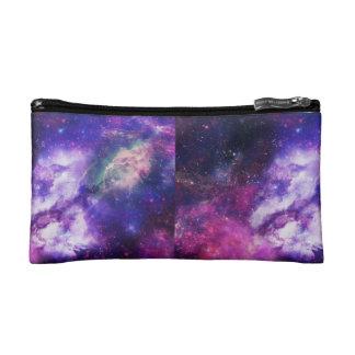 Púrpura de la caja de lápiz de la galaxia estuche de maquillaje