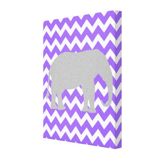 Púrpura de la impresión del cuarto de niños de