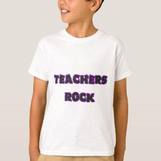Púrpura de la roca del profesor camiseta