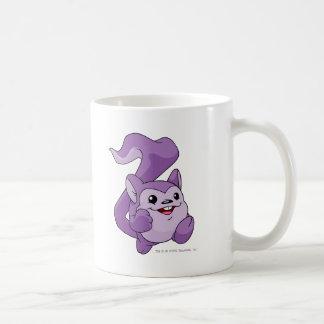 Púrpura de Meerca Tazas De Café