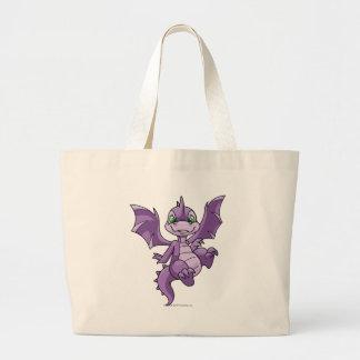 Púrpura de Scorchio Bolsa Tela Grande