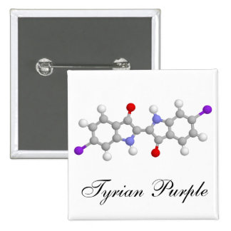 Púrpura de Tyrian Pins