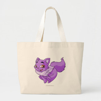 Púrpura de Wocky Bolsa Tela Grande