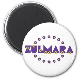 Púrpura de Zulmara de Flores Imán Para Frigorifico