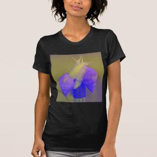 Púrpura del amor del caracol camiseta