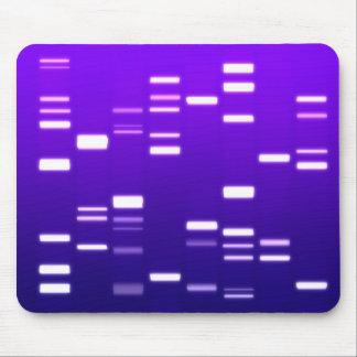 Púrpura del código genético de la DNA Alfombrilla De Ratón