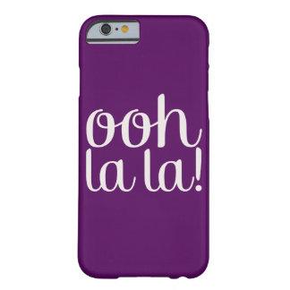 Púrpura del La del La de Ooh Funda De iPhone 6 Barely There