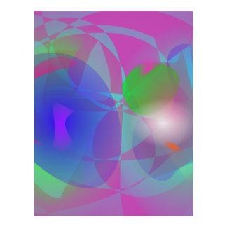 Púrpura efímera folleto 21,6 x 28 cm