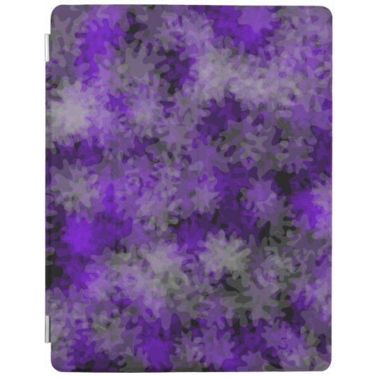 púrpura elegante de la cubierta del ipad cover de iPad