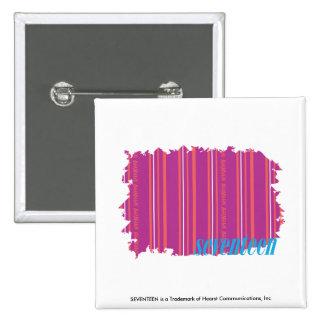 Púrpura fina 2 de las rayas pin