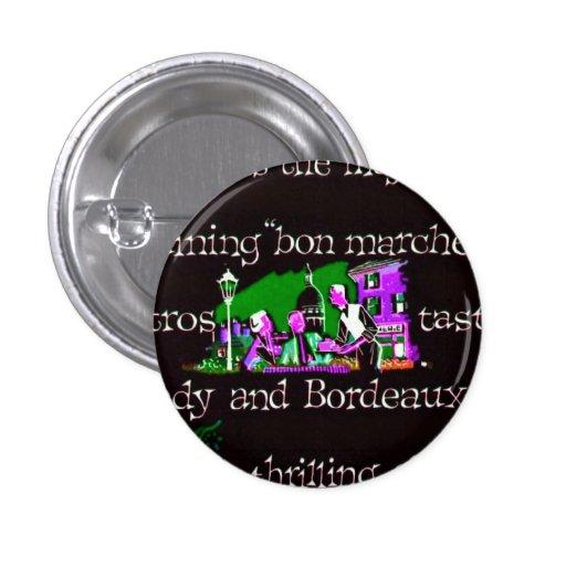 Púrpura francesa del verde de los años 50 de Burde Pins