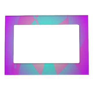 Púrpura impactante marcos magneticos para fotos