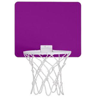 Púrpura Mini Aro De Baloncesto