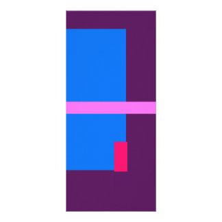 Púrpura oscura contemporánea tarjetas publicitarias