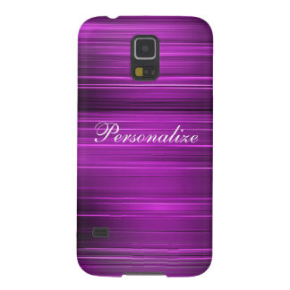 Púrpura psicodélica personalizada funda para galaxy s5