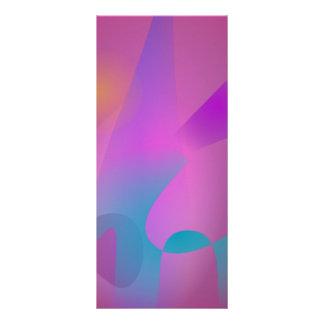 Púrpura rosada abstracta nebulosa lonas