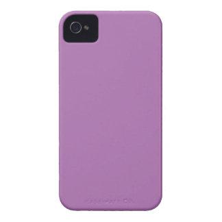Púrpura sólida iPhone 4 Case-Mate cobertura