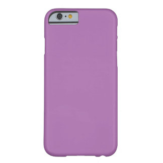 Púrpura sólida funda para iPhone 6 barely there