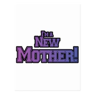 Púrpura soy camisetas y regalos nuevas de una madr tarjetas postales