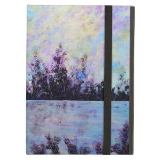 Púrpura una - cubierta de aire del ipad de Jane