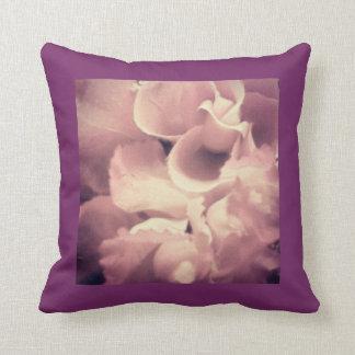 Púrpura y almohada de la perla