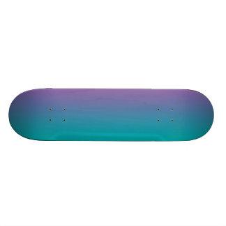 Púrpura y trullo patin personalizado