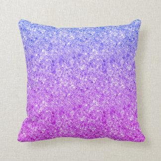 Purpurina colorido Glistering Cojín Decorativo