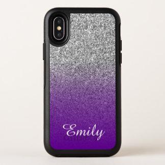 Purpurina de plata Ombre púrpura violeta