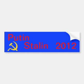 Putin Stalin 2012 Pegatina Para Coche