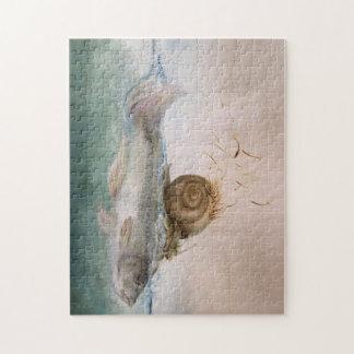 puzle de especie pez de caracol de árbol rompecabeza