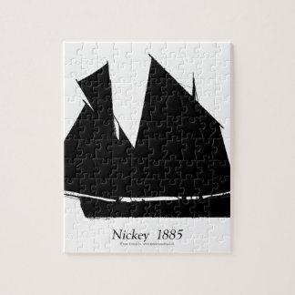 Puzzle 1885 Nickey de la Isla de Man - fernandes tony