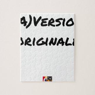 Puzzle (A) VERSIÓN ORIGINAL - Juegos de palabras
