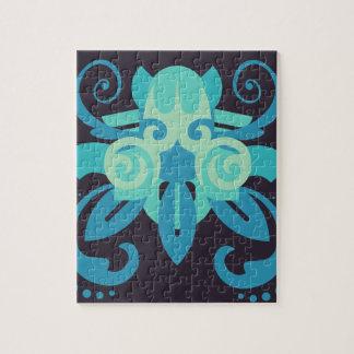 Puzzle Abstracción dos Poseidon