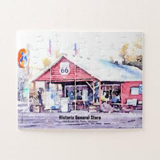 Puzzle Acuarela histórica de la tienda general de Arizona