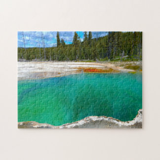 Puzzle Aguas termales Yellowstone.