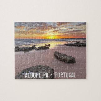 Puzzle Albufeira - Portugal. Vacaciones de verano en