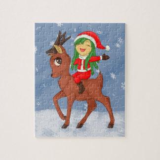 Puzzle Alegría del navidad