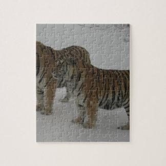 Puzzle Alquileres dos tigres siberianos