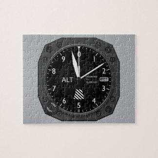 Puzzle Altímetro de los aviones