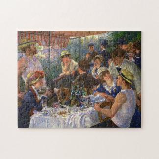 Puzzle Alumerzo de Renoir de la bella arte del fiesta del